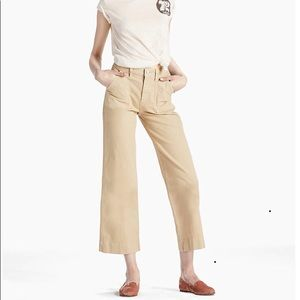 Lucky Brand wide leg utility crop